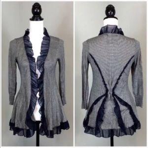 Anthropologie Guinevere Medium Striped Sweater
